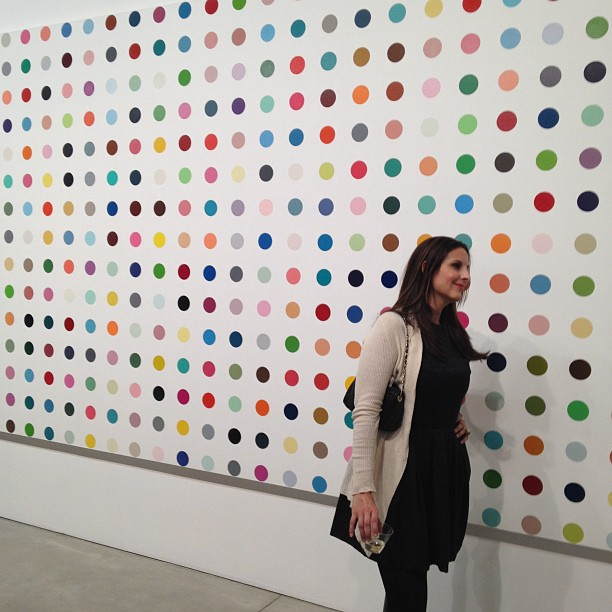 DamienHirstGagosianGalleryThe Complete Spot Paintings 1986–2011