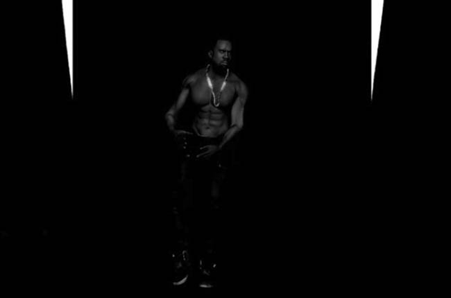 Yeezus-KanyeWest-BlackSkinhead-Video