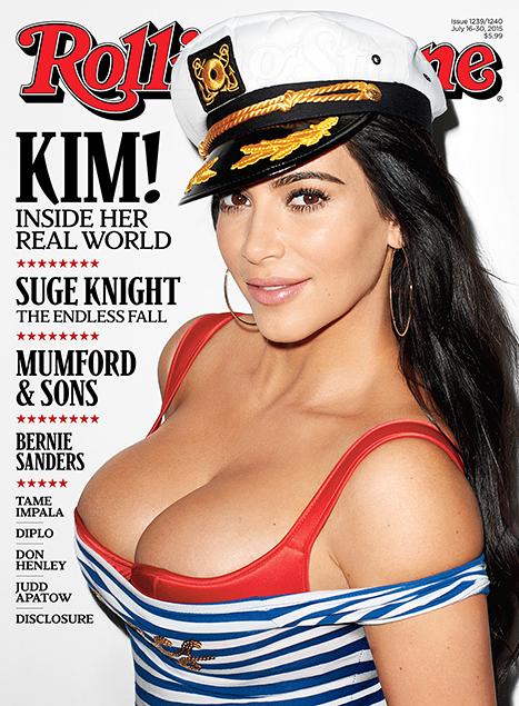 Kim-Kardashian-Rolling-Stone-Nude NakedBreast