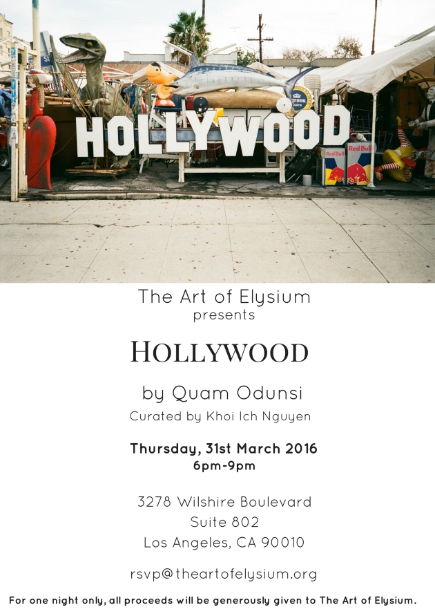 Quam Odunsi-Hollywood-James Franco-Art of Elysium